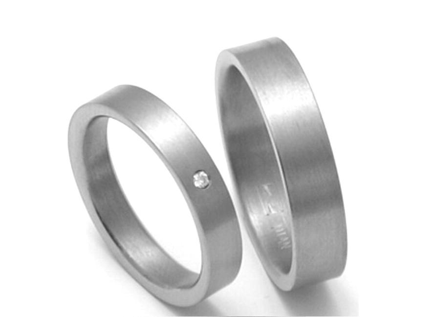 Snubni Prsteny Z Titanu Zero Collection